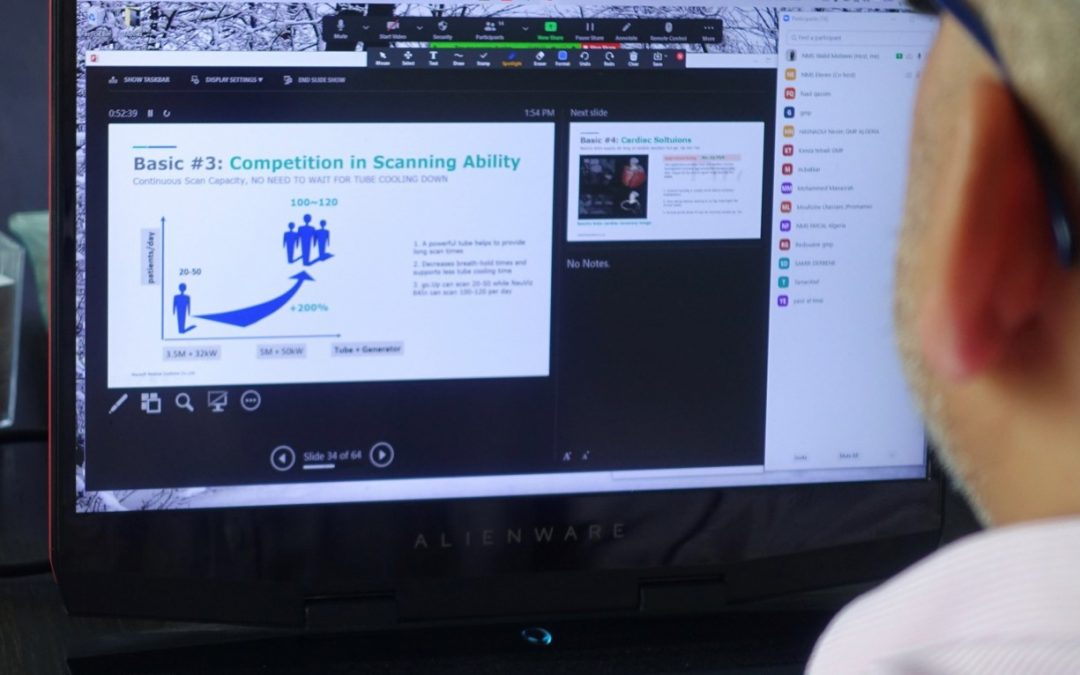 Equipe MENA se destaca por treinamento on-line abrangente